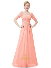 Bridesmaid Dresses With Lace Sleeves - Wedding Dresses Asian