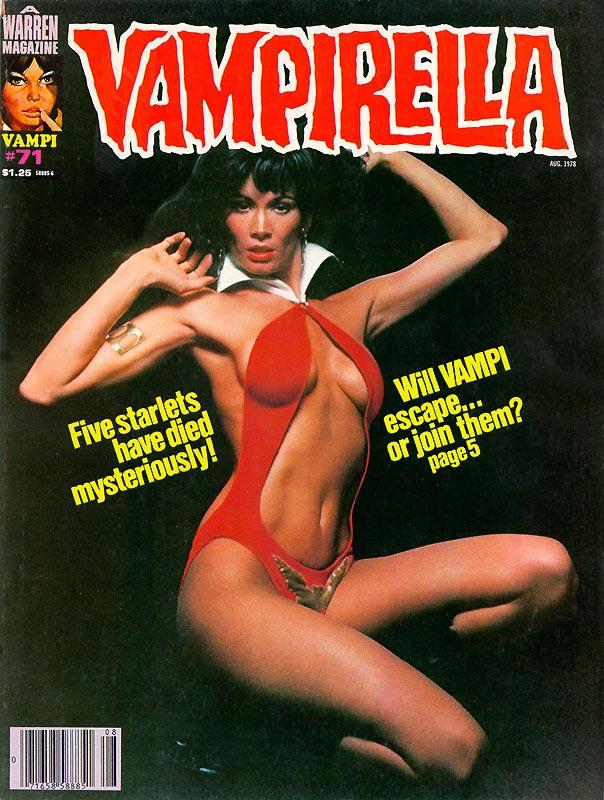 Warren Vampirella issues 61 to 75