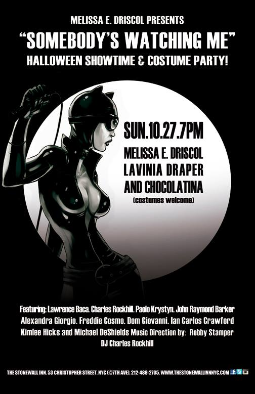 Halloween show at the Stonewall Inn October 2013