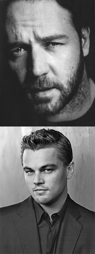 Leonardo DiCaprio Russell Crowe