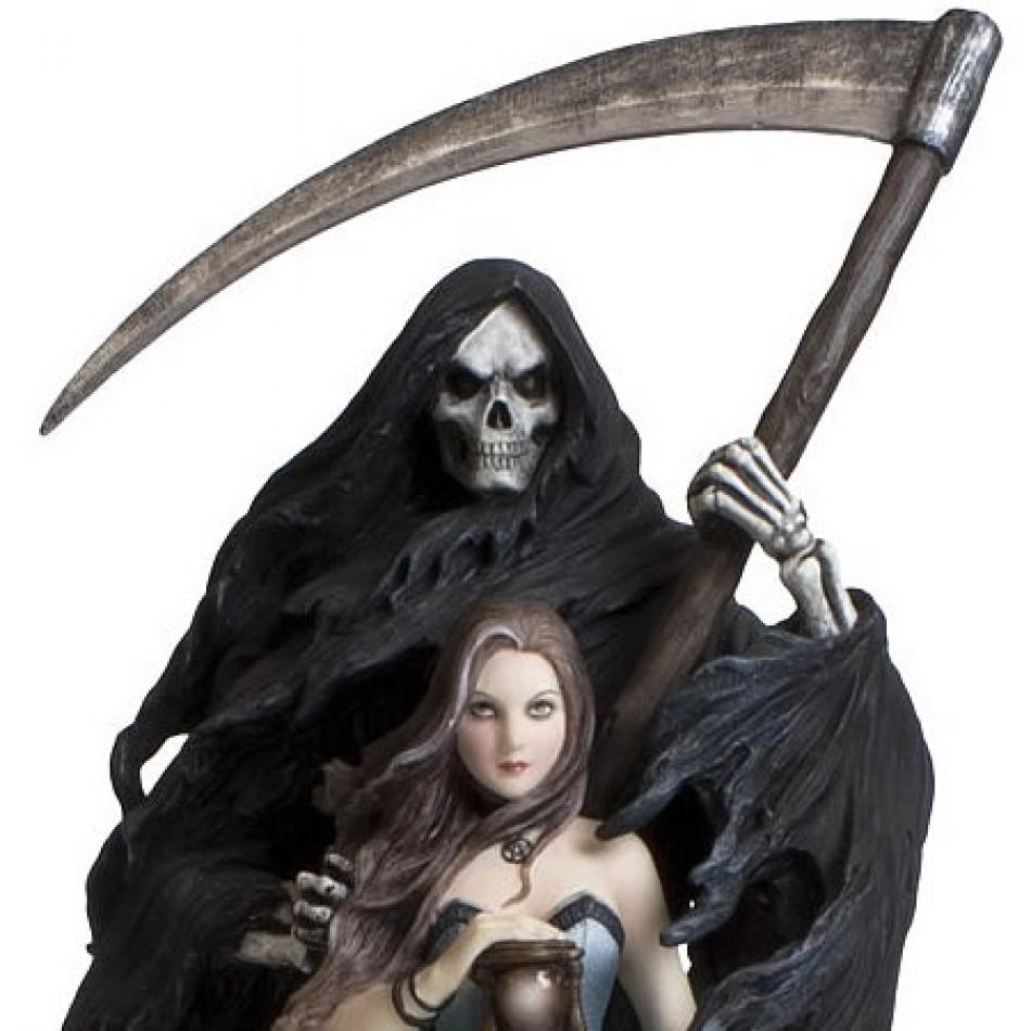 Vampires Kitchen  Nemesis Now Anne Stokes Summon The Reaper Figurine