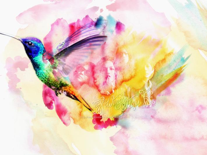 Wings Flap – L'arc˜en˜ciel