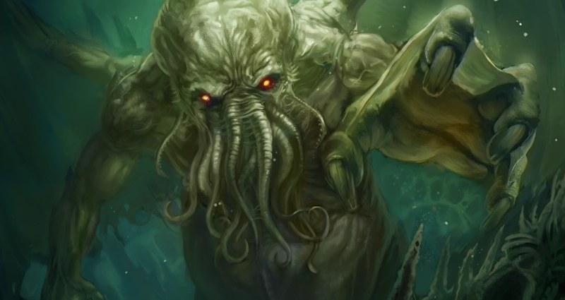Cthulhu Rises by jhimmelman - Immagine allegata all'articolo: Ciclo: Orrori dagli Abissi -H. P. Lovecraft e il Necronomicon (pt.5 Il Richiamo di Cthulhu)