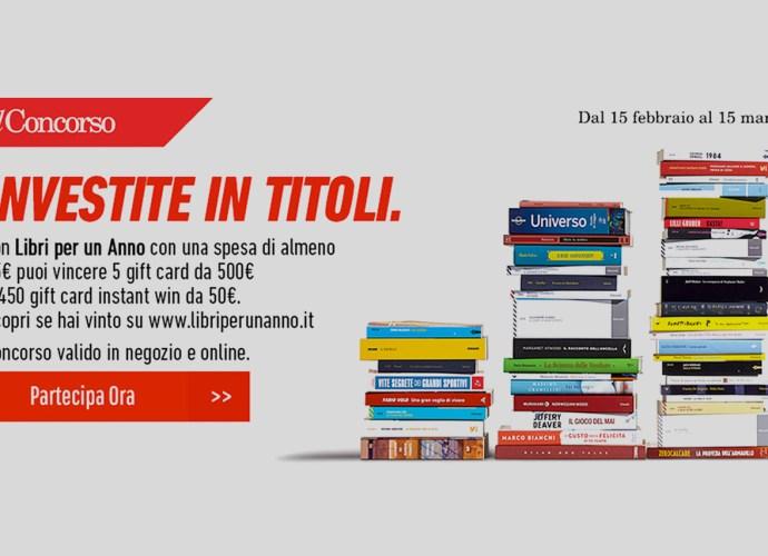 €500 di libri con feltrinelli