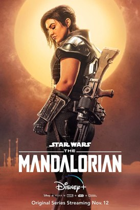Gina Carano in The Mandalorian (2019)