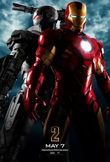 Don Cheadle and Robert Downey Jr in Iron Man 2 (2010)
