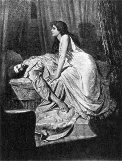 The Vampire (1897) by Philip Burne-Jones La curiosa morte Morton di Algernon Henry Blackwood – Draculea