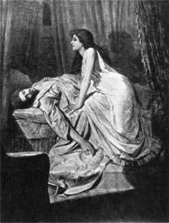 The Vampire (1897) by Philip Burne-Jones La curiosa morte Morton di Algernon Henry Blackwood – Draculea
