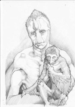 Avien illustrazione di Andrea de angelis gli spiriti selvaggi