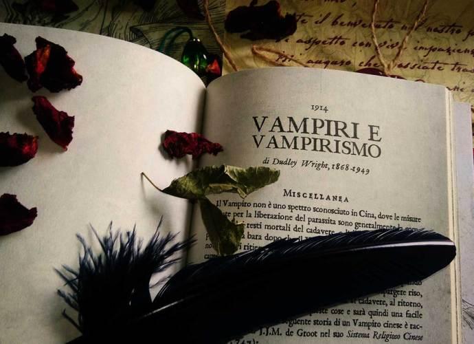 copertina vampiri e vampirismo di dudley wright