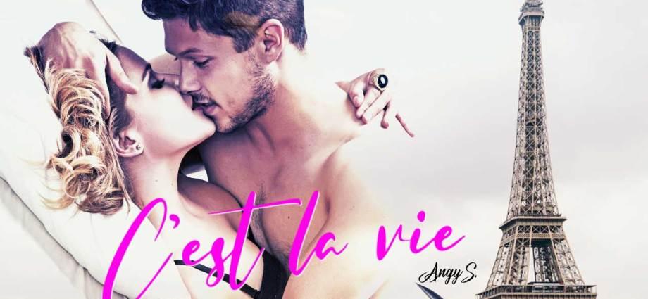 C'est la vie di Angy S copertina pubblicitaria