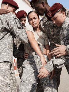 Alice Braga as Maggie Teixeira in We Are Who We Are