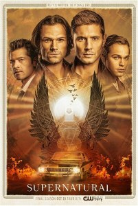 supernatural poster stagione 15