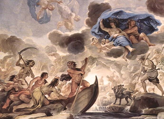 Giordano, Luca: Palazzo Medici-Riccardi: L'inferno