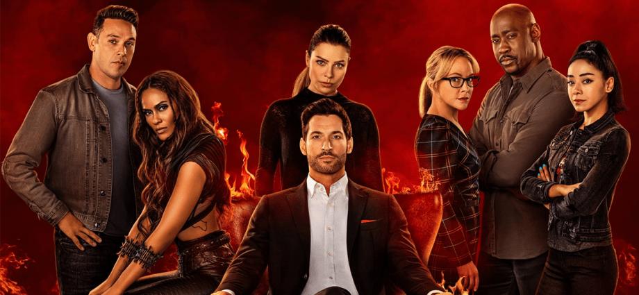 Lucifer season six promotional poster