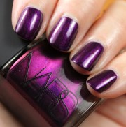 nars purple rain nail polish swatches