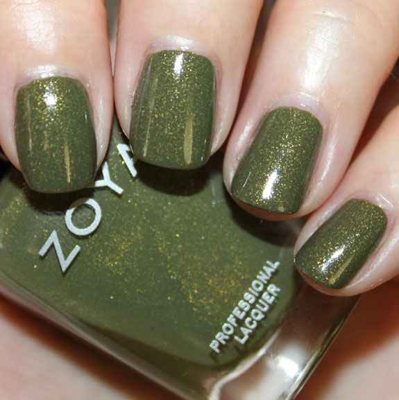 Zoya Mirrors Collection for Fall 2011 Swatches Photos