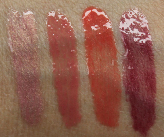 Something to Talk Apout 4-Piece Mini Moxie Plumping Lipgloss Collection by bareMinerals #6