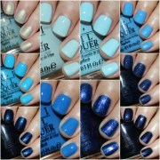 favorite blue opi nail lacquer