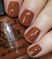 favorite brown opi nail lacquer