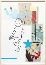 Segeln/VA26-8 | Collage/Mixed Media | 100 x 70 cm | gerahmt