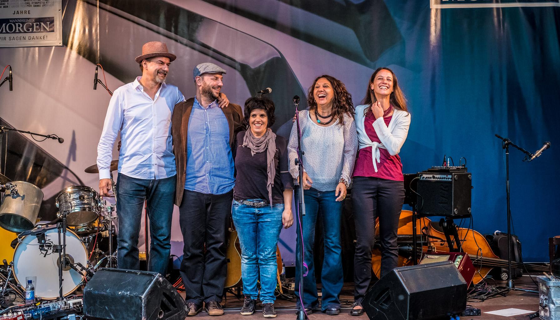 2016 Zélia Fonseca @ Jazz im Quadrat in Mannheim