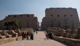 Videodreh @ Karnak-Tempel