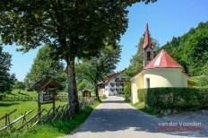 Kapelle auf dem Weg zum Alpsee