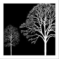 Black And White Tree Wall Art