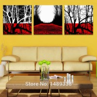 framed art 3 piece wall art picture on canvas wall ...