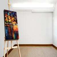 wall art decor picture impressionist landscape oil ...