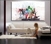 luxry the avengers modern art canvas wall paintings ...
