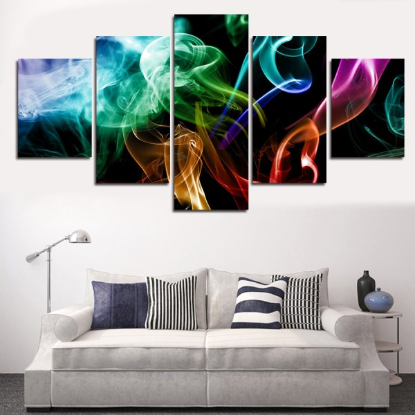 2016 new 5 piece picture sell abstract colorful modern