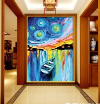 3d canvas painting abstract customized personalized ...