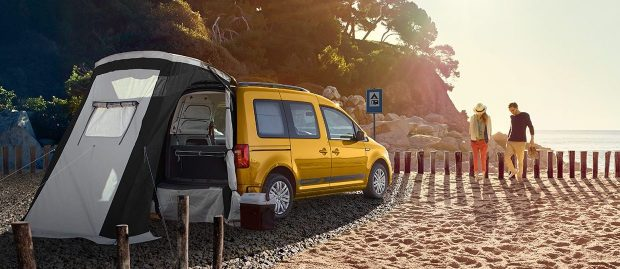 ludospace volkswagen caddy beach van magazine. Black Bedroom Furniture Sets. Home Design Ideas
