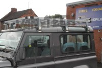 Land Rover Defender 90 Overland Aluminium Roof Rack Full ...