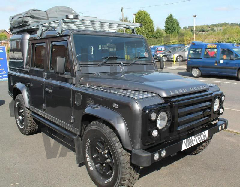 Land Rover Defender 110 Overland Aluminium Roof Rack Full