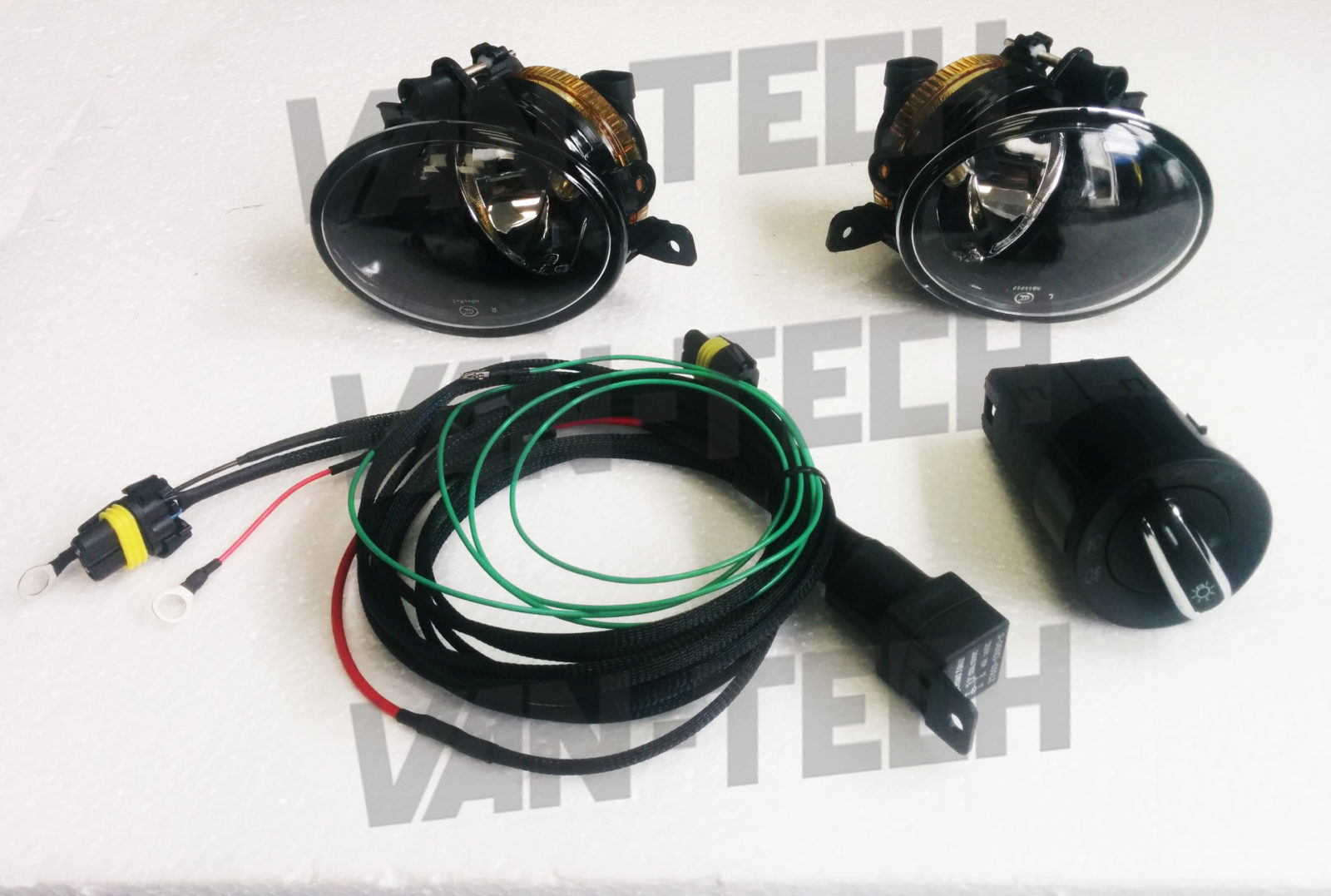 hight resolution of vw t5 fog lights and wiring kit fits models 2010 onwards