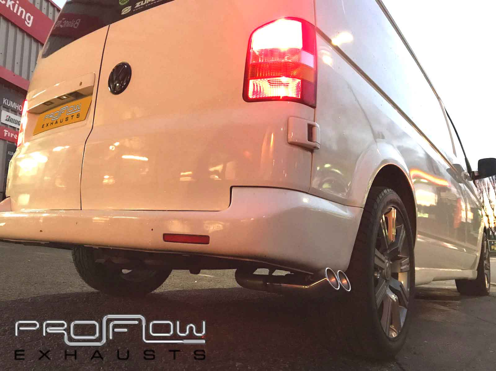 vw transporter t5 fitted with proflow