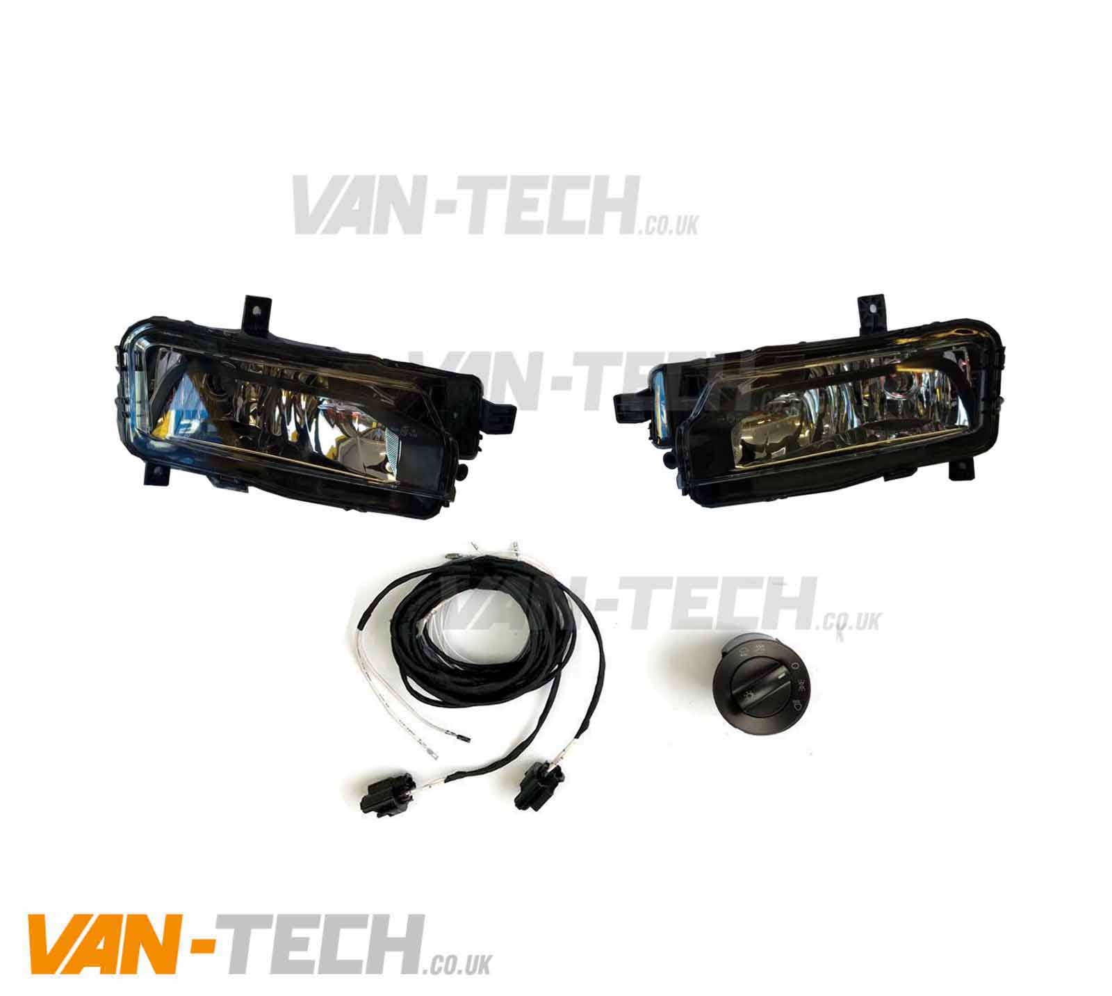 Vw T6 Fog Lights With Bulbs Wiring Kit And Switch