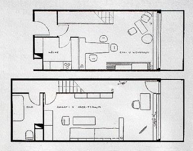 Corbusier  Wohnmaschine