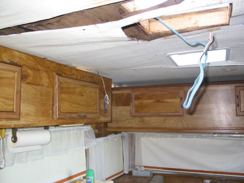 Removing Siding From Travel Trailer