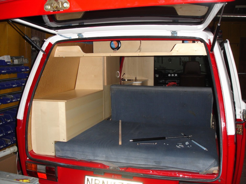 Custom Interior Cabinets For The Vanagon Vanagon Hacks