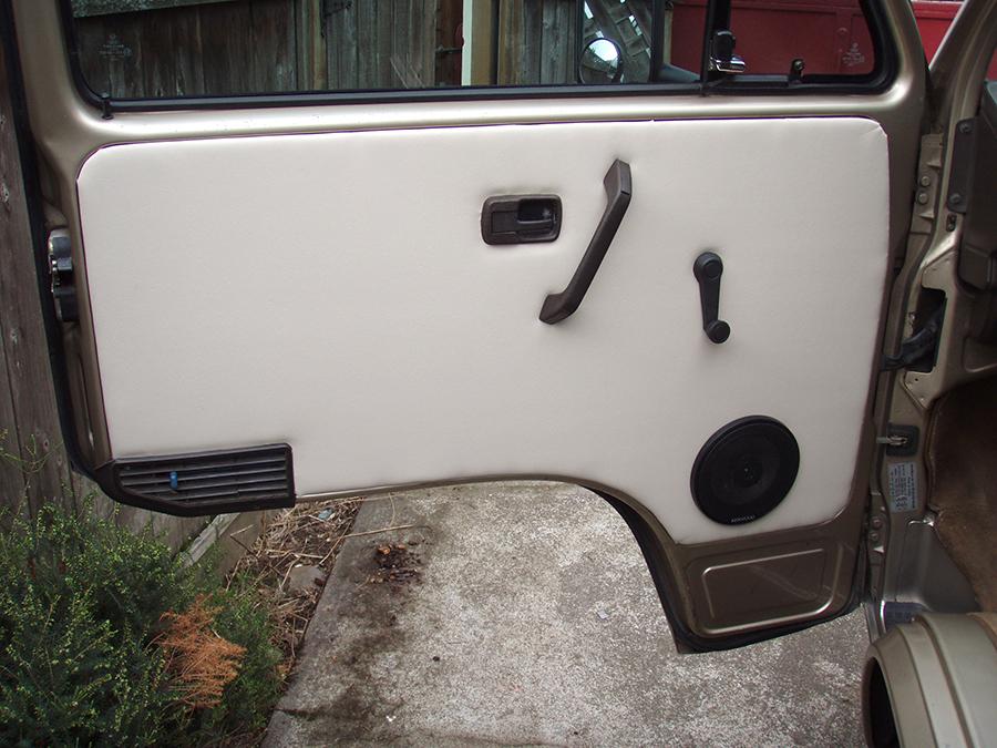 Restoring the Vanagon door panels  Vanagon Hacks  Mods