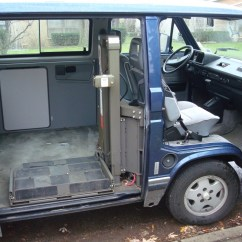 Wheelchair Transport Long Lounge Chair Lifts In The Vanagon | Hacks & Mods – Vanagonhacks.com