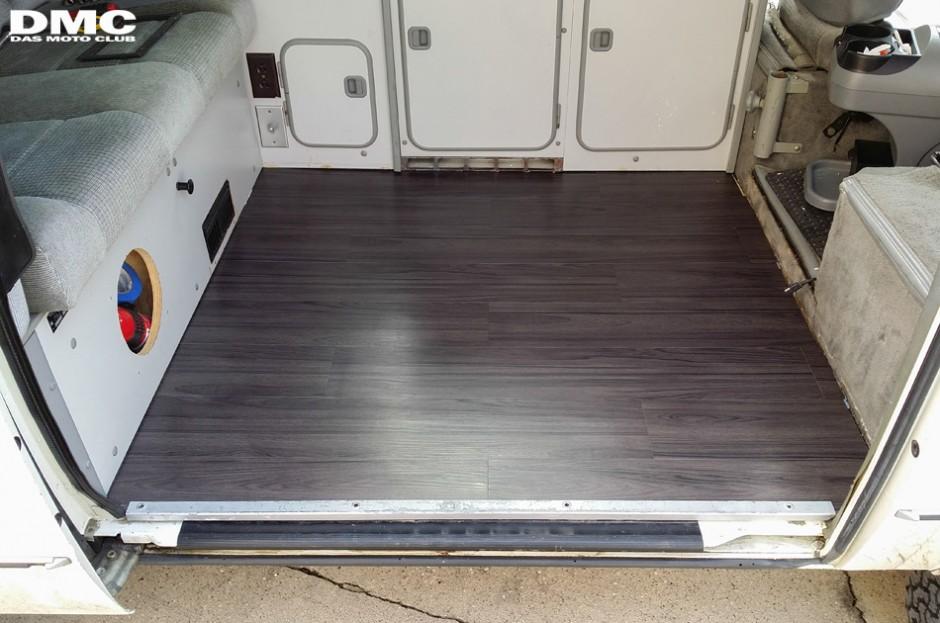 Vinyl wood floor upgrade  Vanagon Hacks  Mods  VanagonHackscom