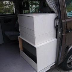 Kitchen Cabinet Accessories Craigslist Used Cabinets Custom With Drawers   Vanagon Hacks & Mods ...