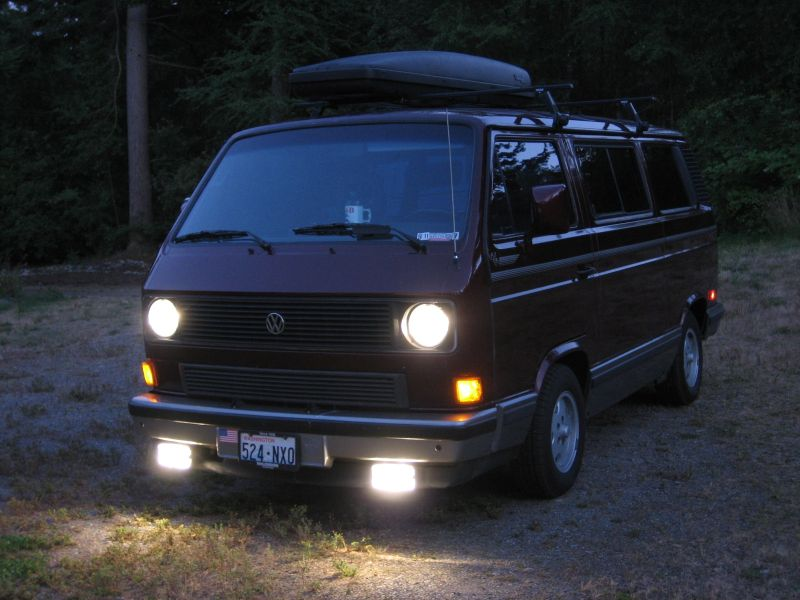 Fog Lights On The Vanagon Vanagon Hacks Amp Mods
