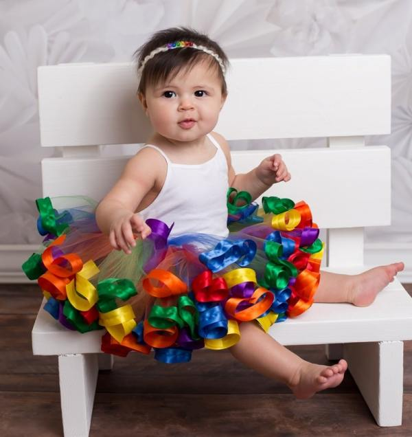 baby girl first birthday tutu dress
