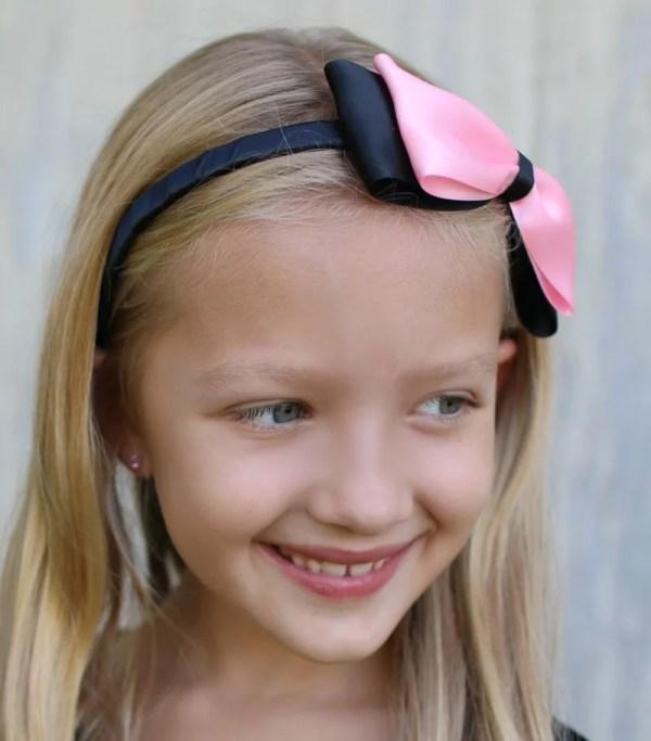 black pink headband